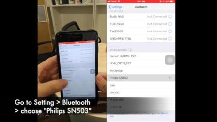Philips SN503与 Runkeeper App 的心率监测兼容#WBD101#心率