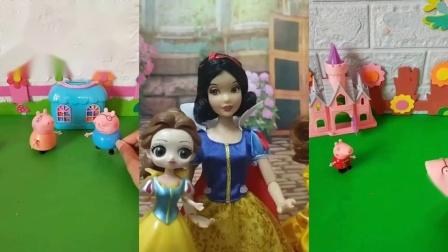 儿童玩具:白雪的小雪儿,怎么和贝尔长得一样啊