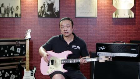 铁人音乐频道乐器测评-Keipro 2020 KS150/ Fender Player Strat HSS