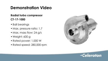 Celeroton空压机 CT-17-1000