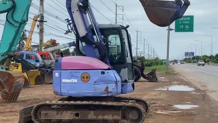 小松 PC78UU杠6挖掘机