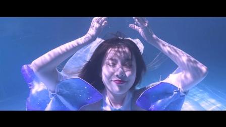 花之精灵,水中女神!超唯美水中之舞献礼魔域花魁赛