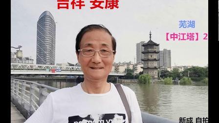 芜湖市 张新成摄【中江塔】20帧 配乐照片  2020.8.20.
