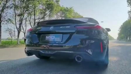 【MRG】宝马新Z4 国六B  全段阀门头段直通  路试