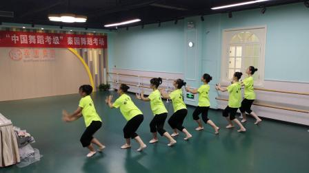 监利秦园舞蹈——中国舞蹈家协会中国舞蹈考级 10级 《卡侬练习》13岁大宝