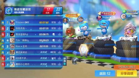 大揭阳第四届跑跑卡丁车(手游)竞速组队友谊赛决赛2队VS5队