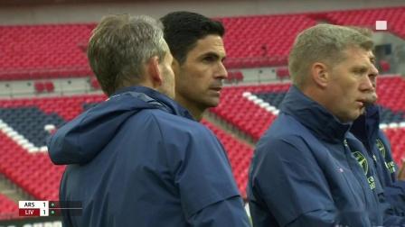 8月29日2020英格兰社区盾决赛阿森纳VS利物浦(BTS)