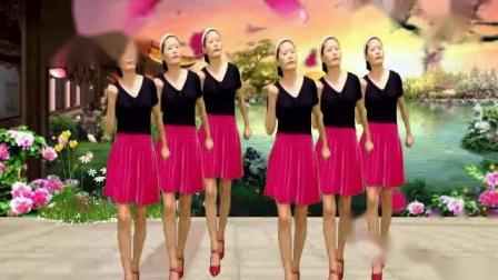 顺发超市广场舞《心里梦里都是你》动感32步 简单易学