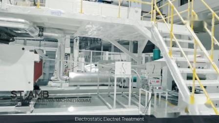 斯爵思高产能BFE稳定99.9%熔喷无纺布机器