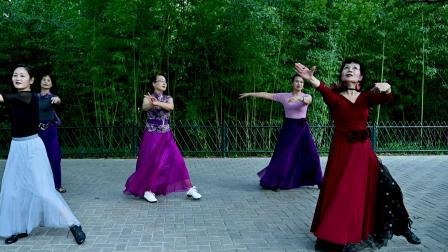 紫竹院杜老师舞蹈队《月满西楼》杜老师 青青822-2334