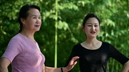 紫竹院杜老师舞蹈队 走秀《红莓花儿开》822-2327