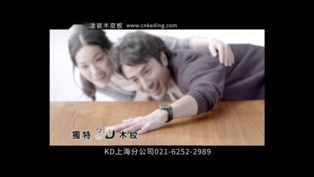 2014涂装木皮板电视广告