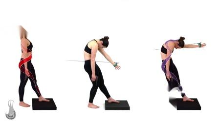 SPS螺旋稳定肌肉链垫上动作演示