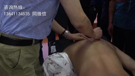 赵建新脊背部针法讲解演示-中医柔性正骨