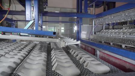 全自动尿壶生产线,全世界共8条,5条必硕制造!