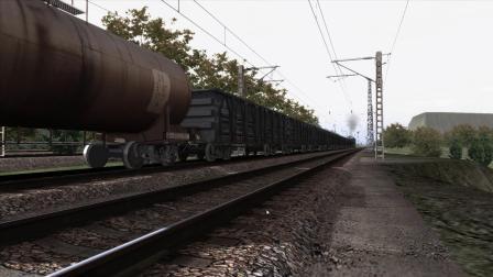 2005年K127次列车追尾事故模拟