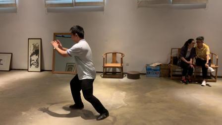 黄毓鹏传统杨式极拳第一段演练2020.09.05