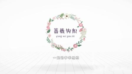蔷薇钩织视频第158集欧美开衫片头