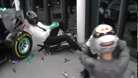 在F1车队办公室漂移,也就crazy cart可以带你实现吧。