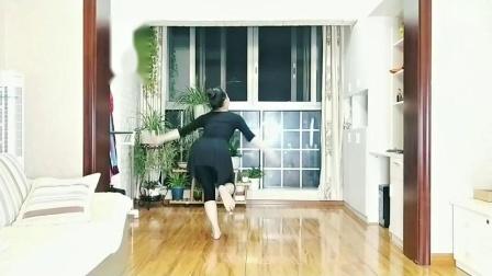 李夏辉编舞,飘飘分解《我的九寨》第五部分
