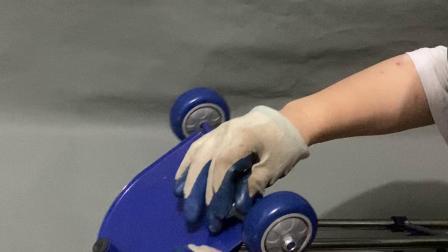 钢圈款 钢瓶小推车安装视频