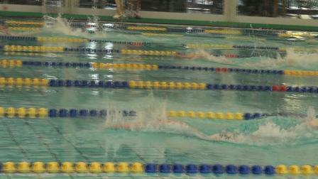 女子50米自6道 陈逸菲 2020浦东新区金桥杯游泳比赛