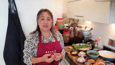 Thai food cook along with Saiphin Moore