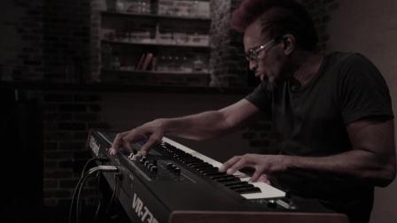 Roland V-Combo VR-730 Live Performance Keyboard Split Setting Sound Preview