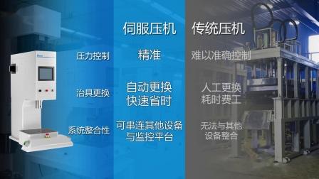 台达伺服压机产品介绍-换电缸型