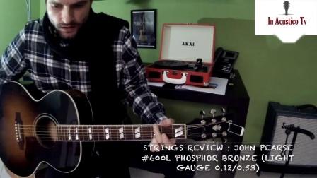 美产 John Pearse 琴弦600L装在吉普森Gibson和马丁的吉他上是什么声音