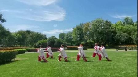 郑州人民公园28式太极拳