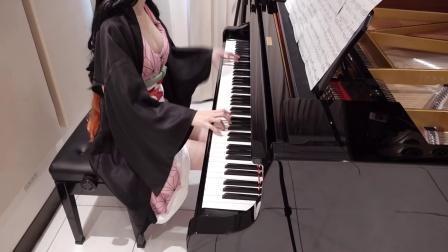 鬼灭之刃 OP 红莲华 LiSA Demon Slayer [钢琴曲][日本Pan演奏]
