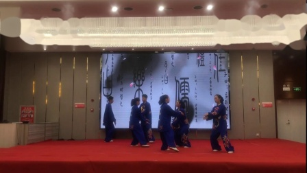 健身气功比赛+安庆市健身气功协会代表队+气舞