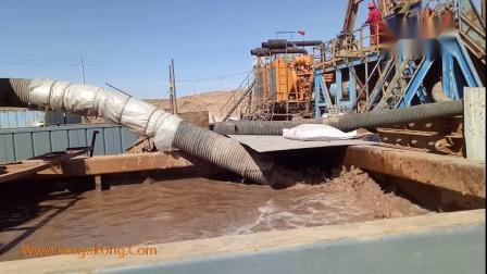 钻井泥浆处理现场