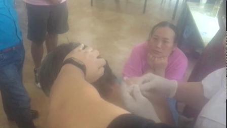 中医针灸-李玲新九针心四针治疗颈肩疼痛视频