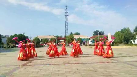 八台镇八台村美丽乡村舞蹈队    我们共同的家