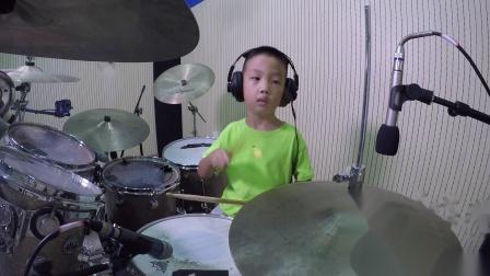 深圳鼓唐六岁小鼓手刘盛阳《PowerTrip》鼓唐音乐教育连锁