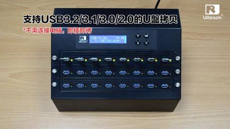 台湾佑华_USB3.2 拷贝机_每分鐘16GB_H5檢測_每