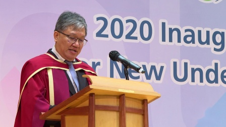 Speech of Dean, School of Education and Languages