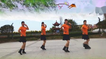 高密-夏荷广场舞 鸟儿对花说.mp4  编舞 沚水
