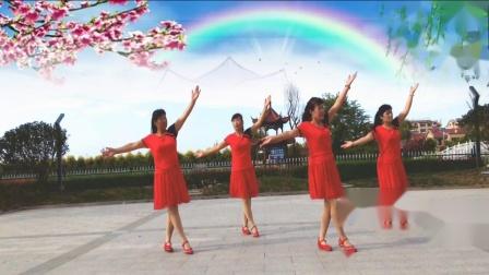 高密-夏荷广场舞 乘风破浪的小姐姐.mp4  编舞 雪妹  视频制作 夏荷