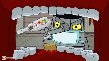 坦克世界:老坦克去医院看牙医,准备拔牙