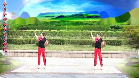 美玲玉广场舞《草原上的小阿妹》》编舞:云裳老师