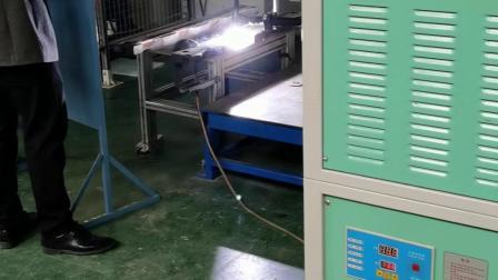 钢铁厂侧导卫板耐磨耐高温等离子粉末堆焊视频
