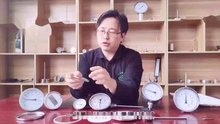 双金属温度计内部结构介绍
