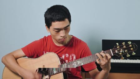 小哥唱周杰伦这首歌 吉他弹唱很好听