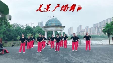 美景广场舞《对着月亮说爱你》