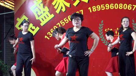 石码街心公园交谊舞健身站 水兵舞《呼伦牧歌》