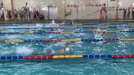 50自 老刘 2020游泳周周赛 宝山通河