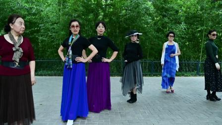 紫竹院杜老师舞蹈队 走秀《真的好想你》823-2387